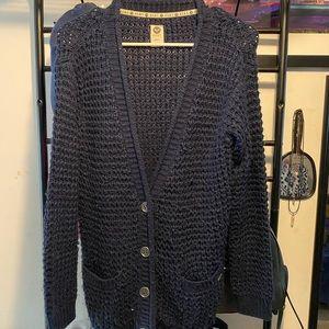 Woman's Blue cardigan
